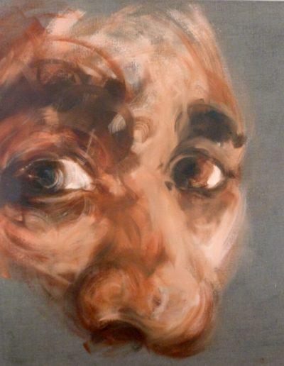 Inside 2 / huile sur toile / 2014 / 120 x 100 cm
