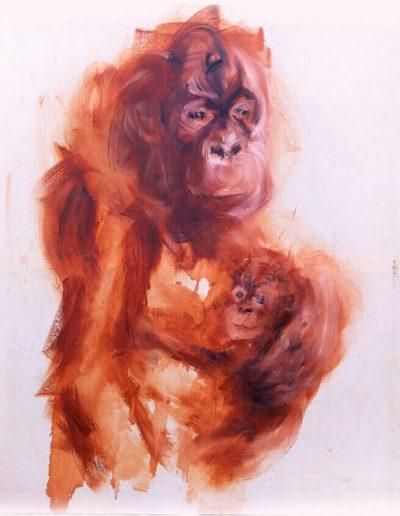 Sam / huile sur toile / 2014 / 120 x 100 cm