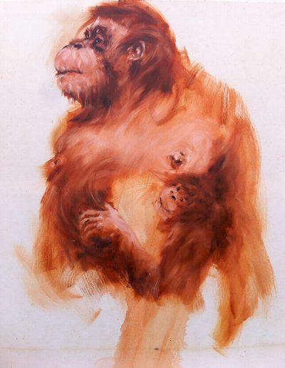 Suphinah / huile sur toile / 2014 / 120 x 100 cm