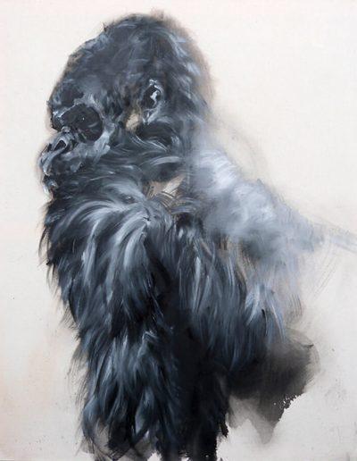 Tuck / huile sur toile / 2014 / 120 x 100 cm