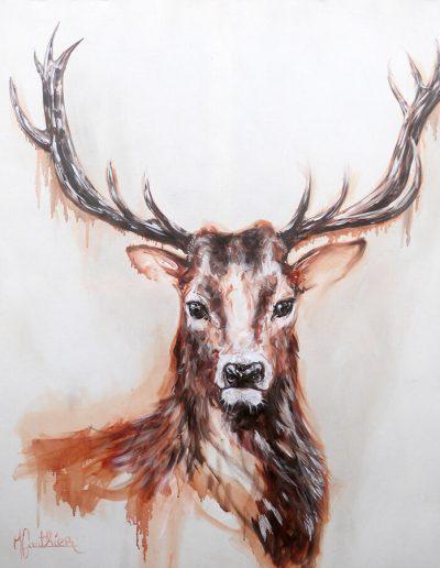 Cernounos / huile sur toile / 2016 / 120 x 100 cm