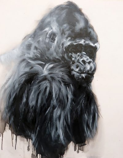 Koko / huile sur toile /  2014 / 120 x 100 cm