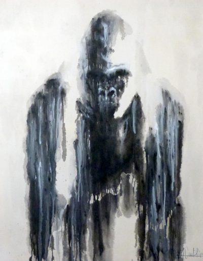 Atlas / huile sur toile / 2018 / 120 x 100 cm