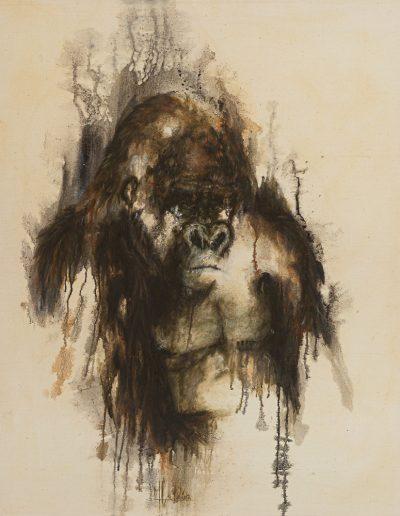 Upala - 120 x 100 cm - huile sur toile brute - 2019